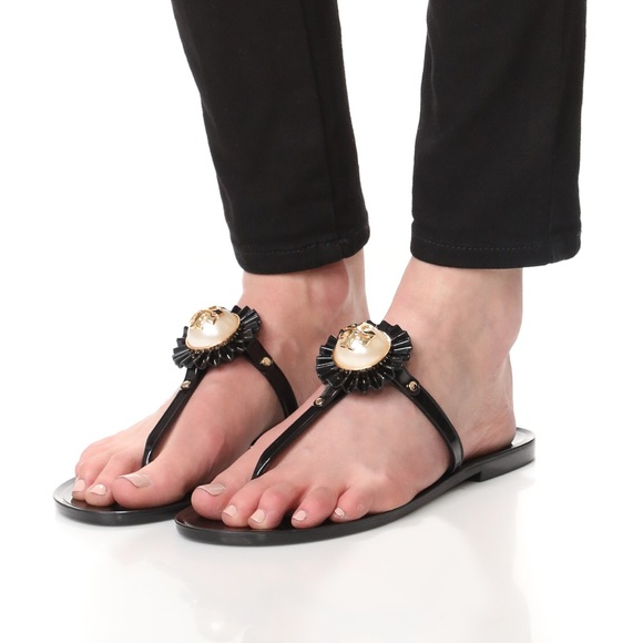 b383778fecc41c Tory Burch melody mini miller things jelly sandal.  M 5b653a999e6b5b267f43fc01